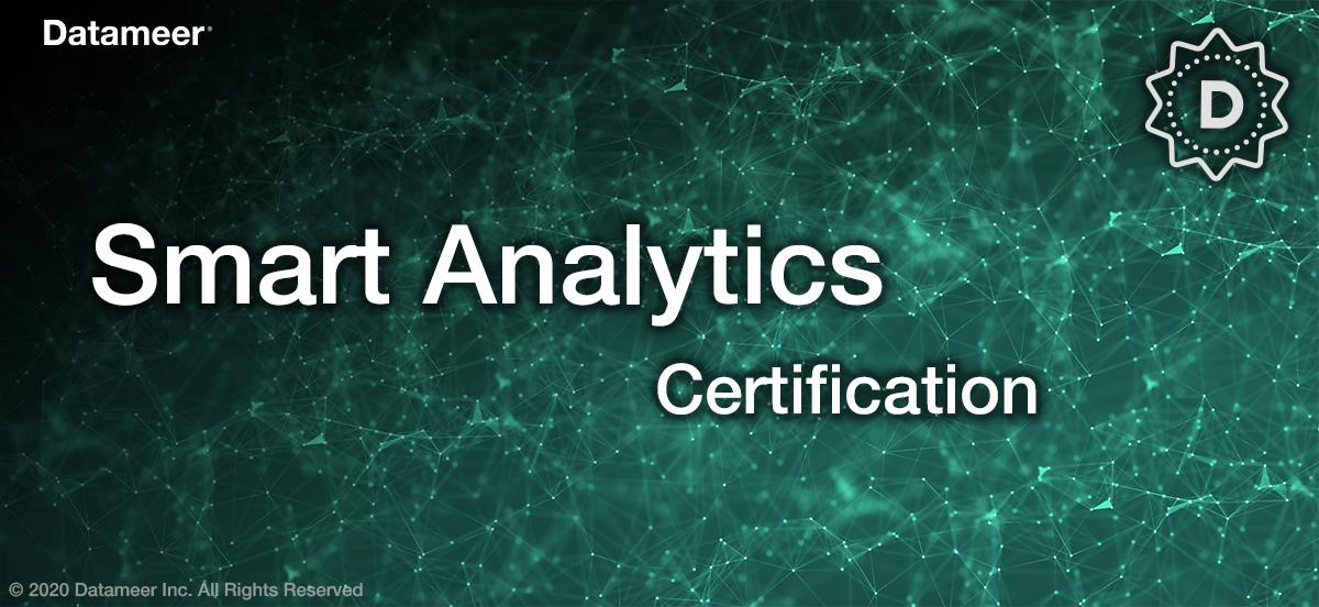 Smart Analytics Certification