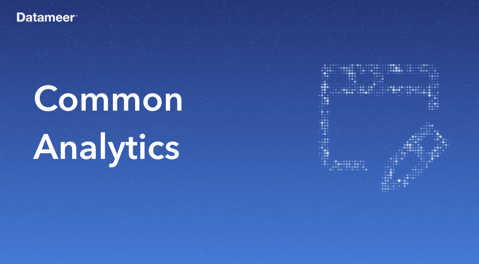 Common Analytics