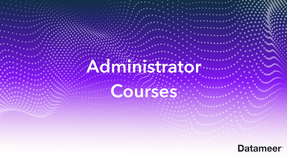 Administrator Courses