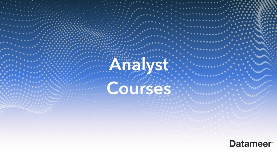 Analyst Courses