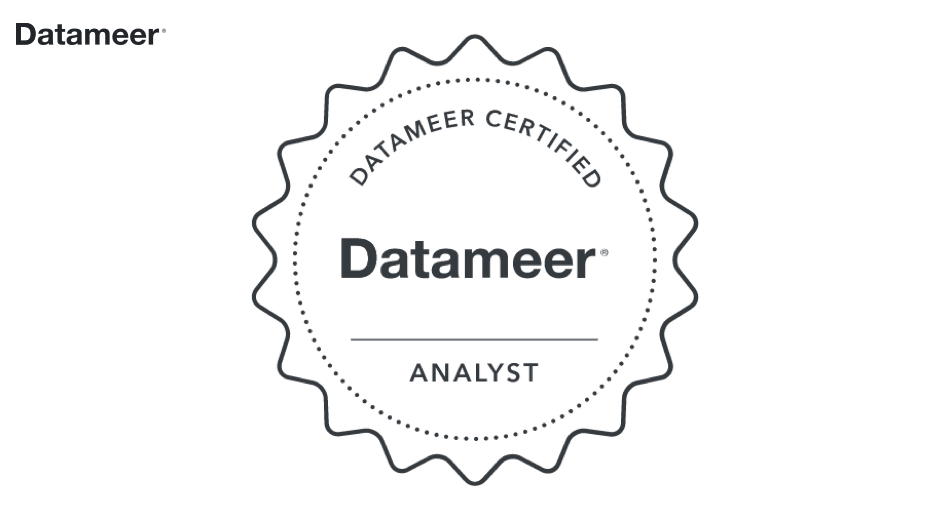 Datameer Analyst Certification (Datameer 6)