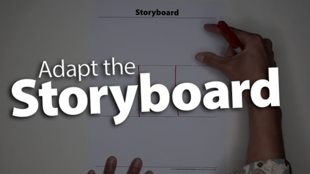 'Adapt the Storyboard to Fit All Chronological Texts'