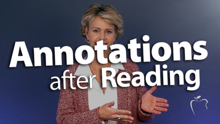 'Return to Annotations After Reading'