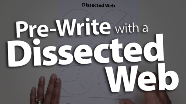 'Track Main Ideas And Details Within A Dissected Web'