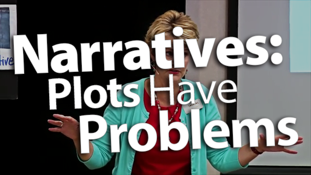 'Plan Problems into Narrative Pieces'