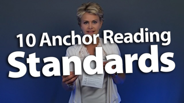 'Master the 10 Anchor Reading Standards with a Cheat Sheet'