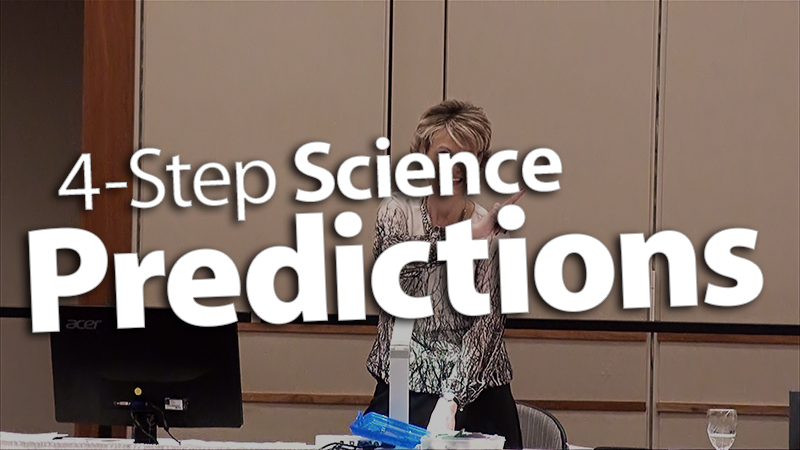 'Follow 4-Step Predictions in Science'