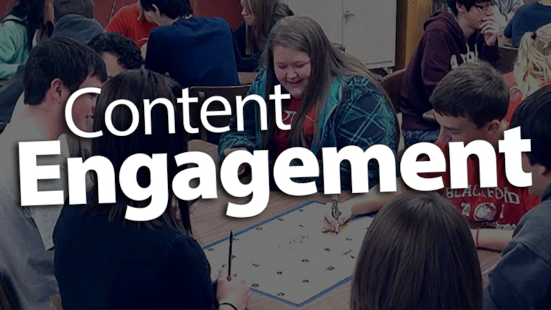 'Review Content with Engagement'
