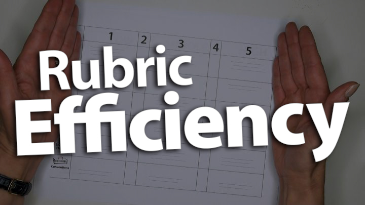 'Use a Six-Traits Rubric for Efficient Assessment'