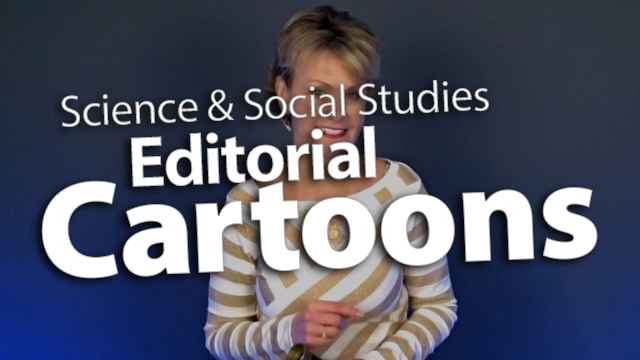 'Add Editorial Cartoons to Science & Social Studies'