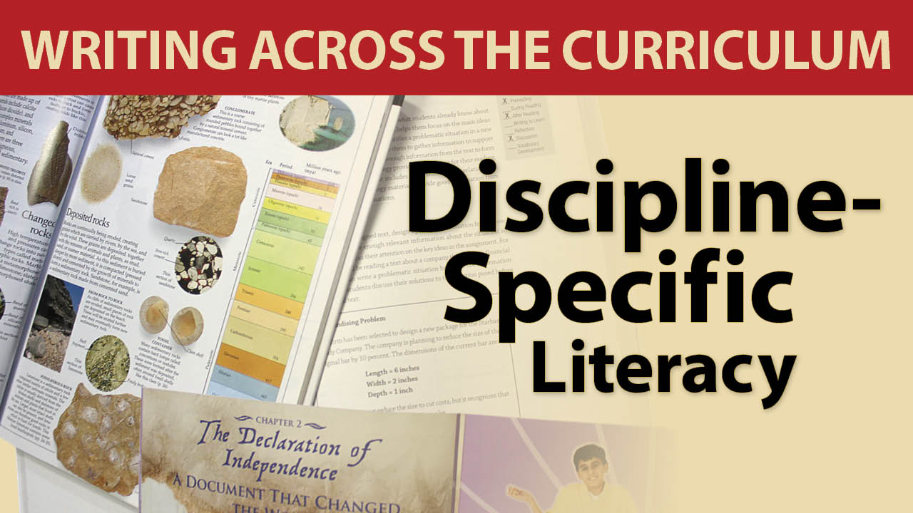 Discipline-Specific Literacy Secret Site