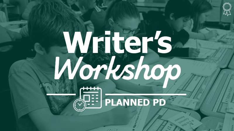 """Launching  the Writer's Workshop Procedures"""