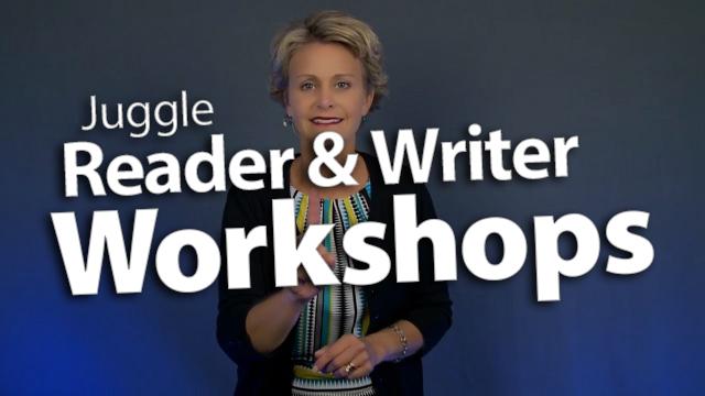 'Juggle Reader & Writer Workshops in 50 Minutes'