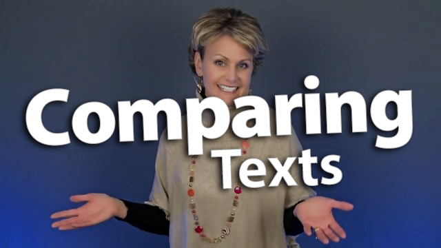 'Find Common Ground when Comparing Texts'