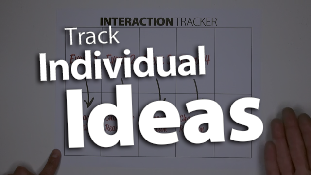 'Track Individual Ideas to Analyze Their Influences'