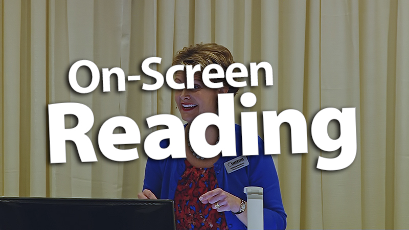 'Maximize On-Screen Reading Time'