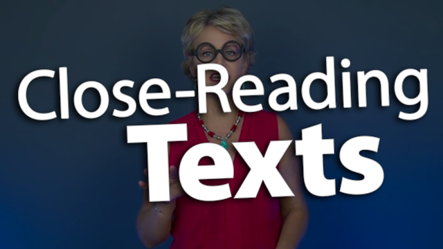 'Identify Text Worthy of a Close Reading'