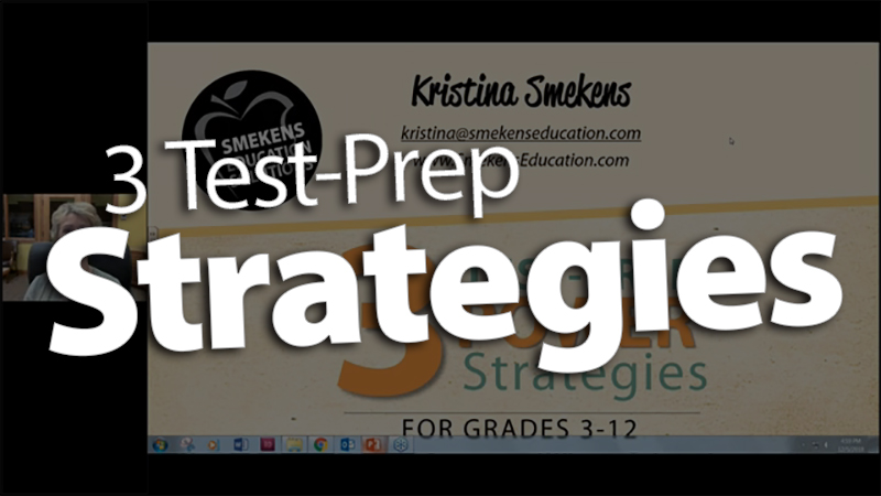 '3 Test-Prep Power Strategies'