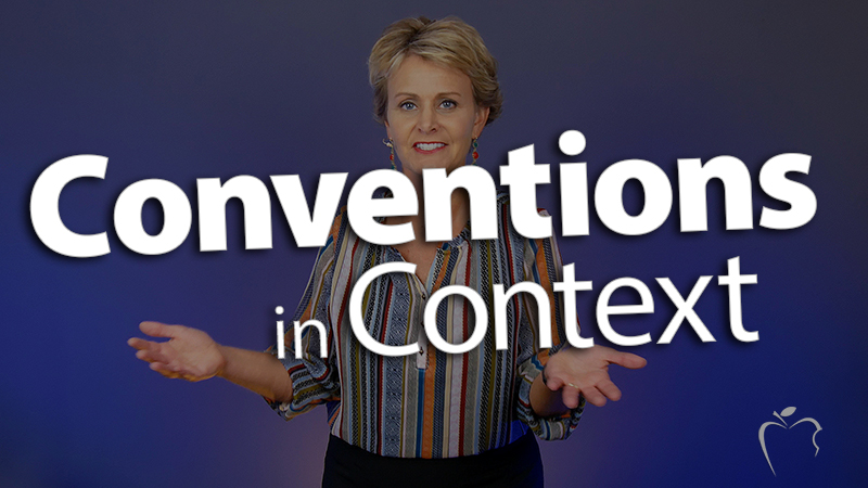 'Teach Conventions in Context'