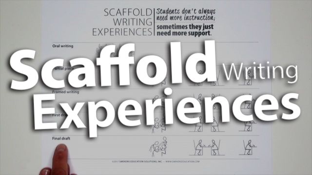 'Scaffold Writing Experiences'
