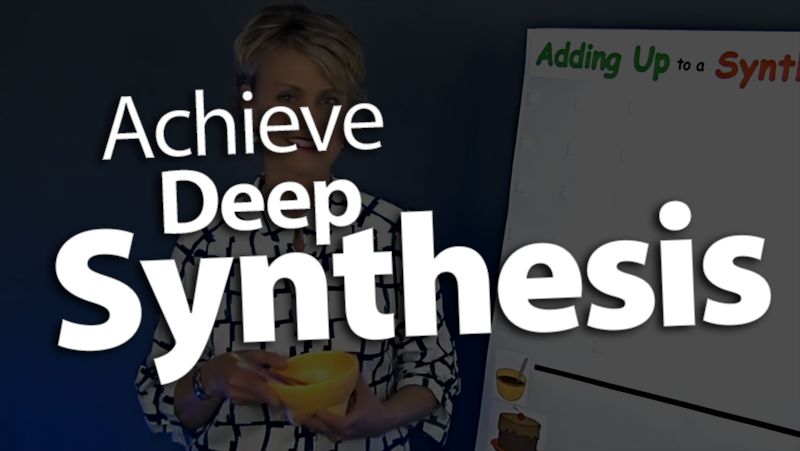 'Achieve Deep Synthesis'