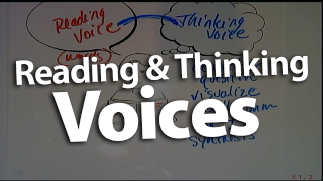 'Introducing Reading Voice and Thinking Voice'