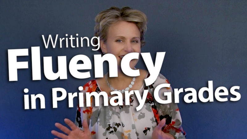 'Increase Writing Fluency in Primary Grades'