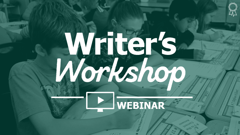 Fit the Writer's Workshop into your Schedule