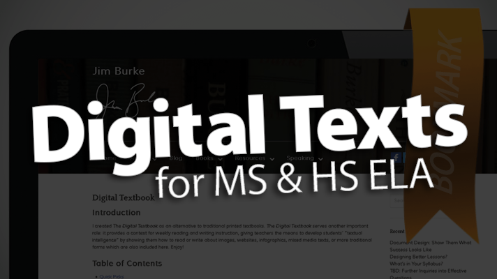 'Access Digital Texts for MS/HS ELA'