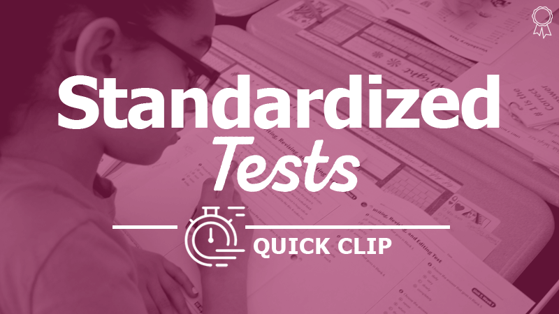 """Reflect, Don't Revise, Before Standardized Tests"""