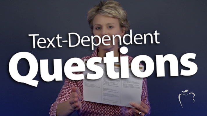 'Plan & Ask Text-Dependent Questions'