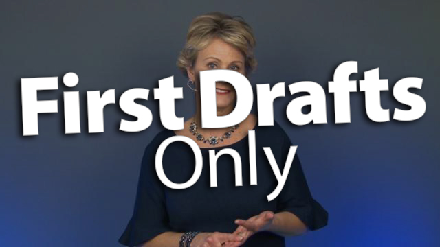 'Generate More First Drafts than Final Drafts'