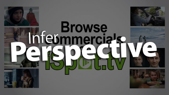 'Infer Perspective with TV Commercials'