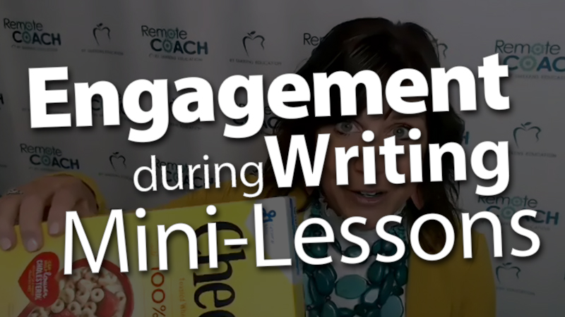 'Live Coaching Call: Writer's Workshop Procedures with a focus on Engagement during the Mini-Lesson'