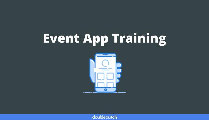 Event App Training