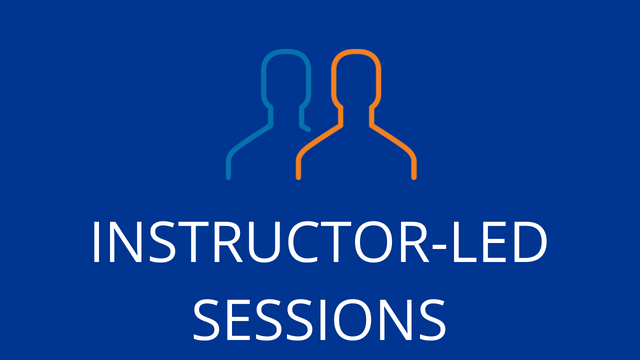 Instructor Led Sessions