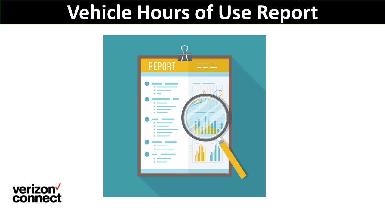 Vehicle Hours of Use Report