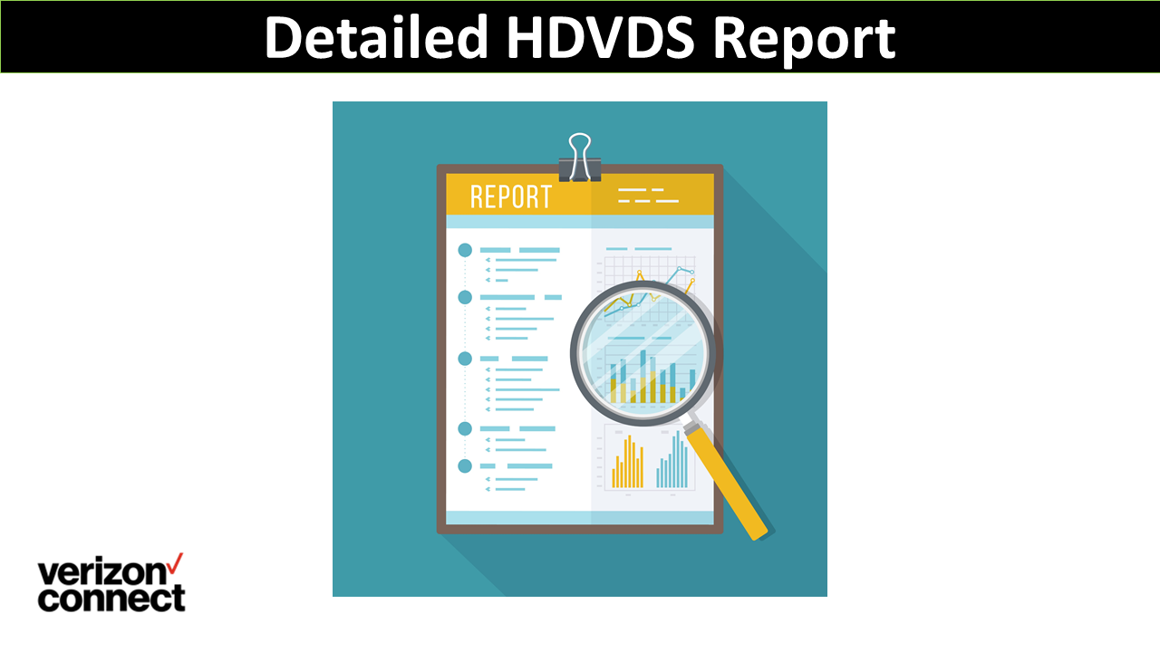 Detailed HDVDS Report