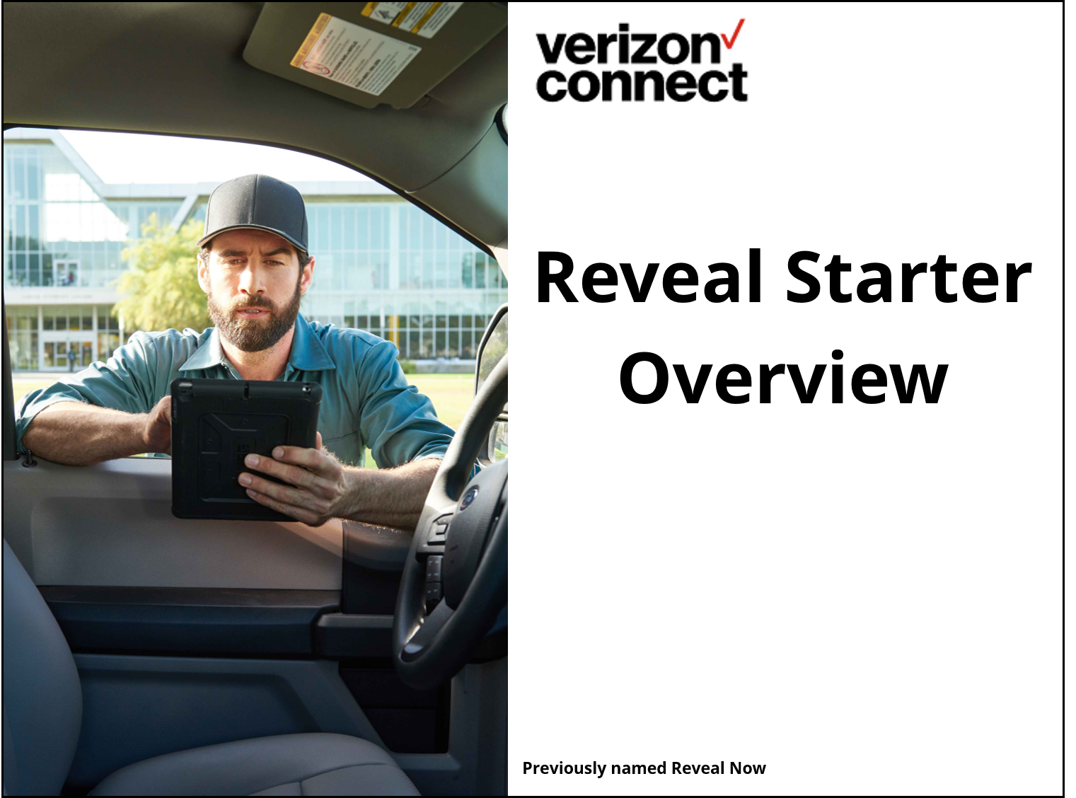 Reveal Starter Overview eTutorial
