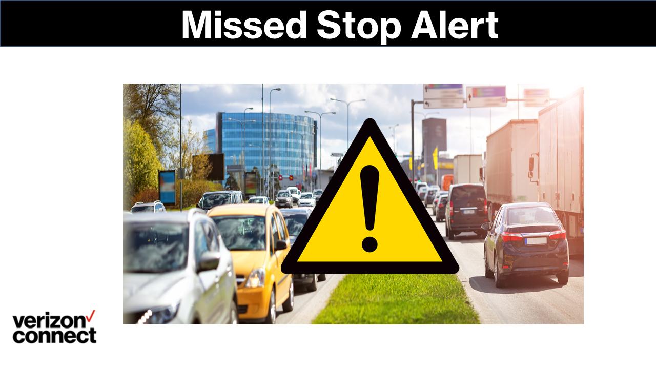 Missed Stop Alert