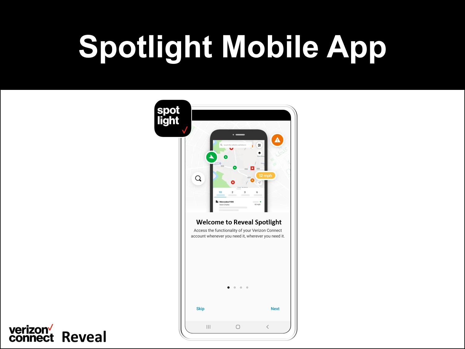 Spotlight Mobile App for Reveal eTutorial