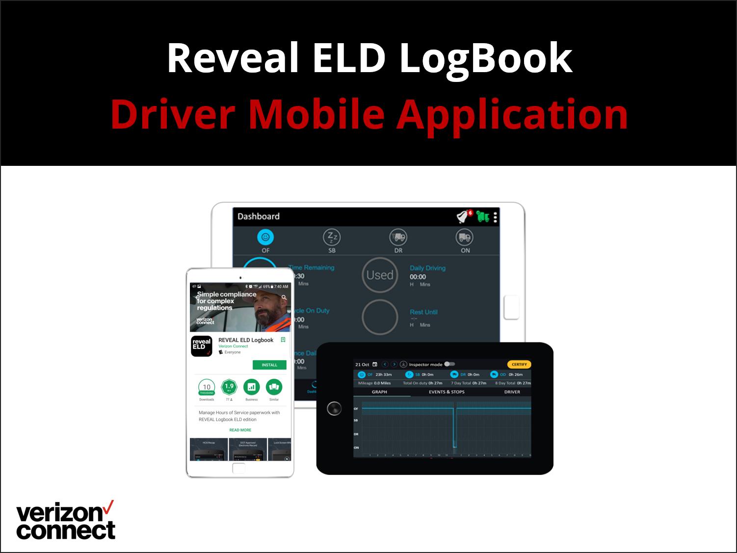 Reveal LogBook ELD Mobile App eTutorial for Drivers