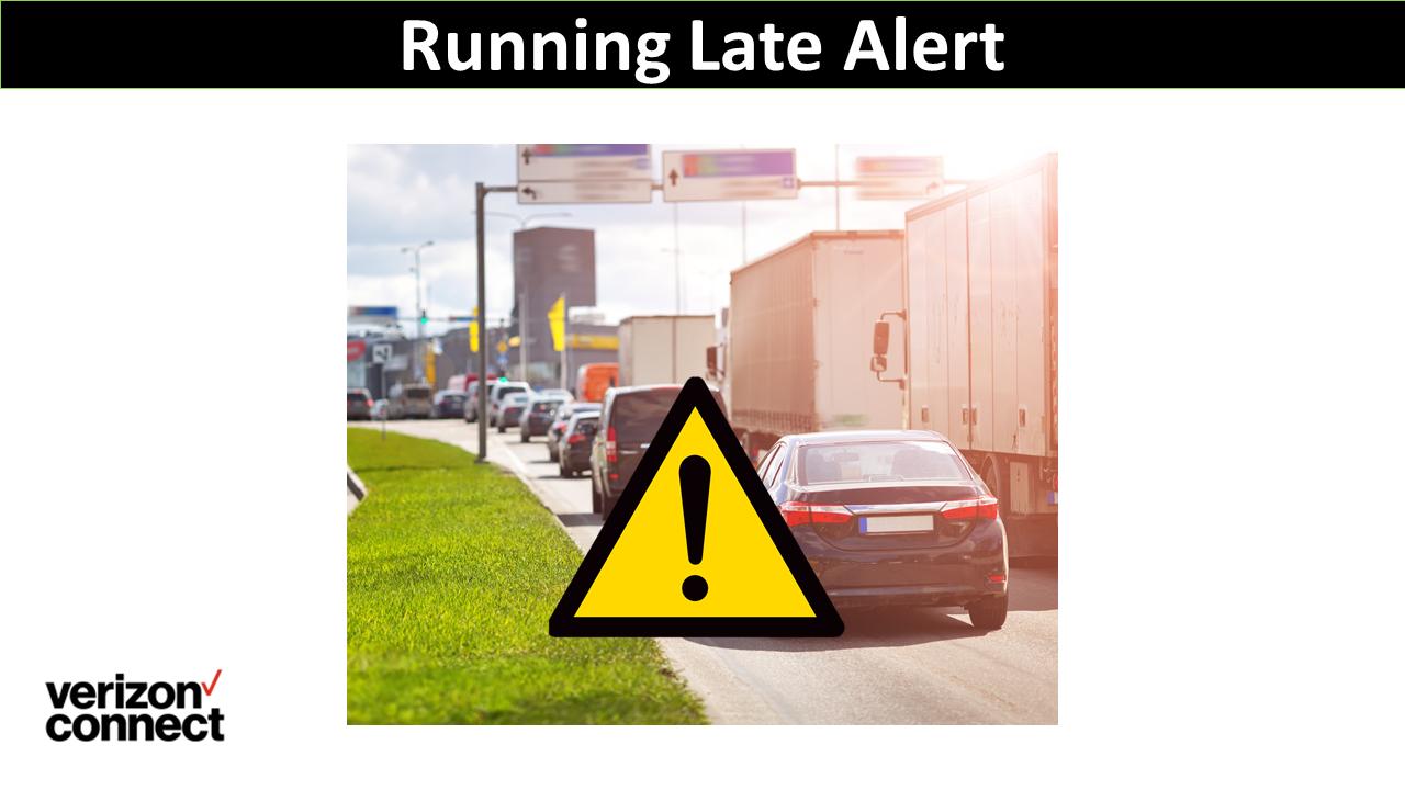 Running Late Alert
