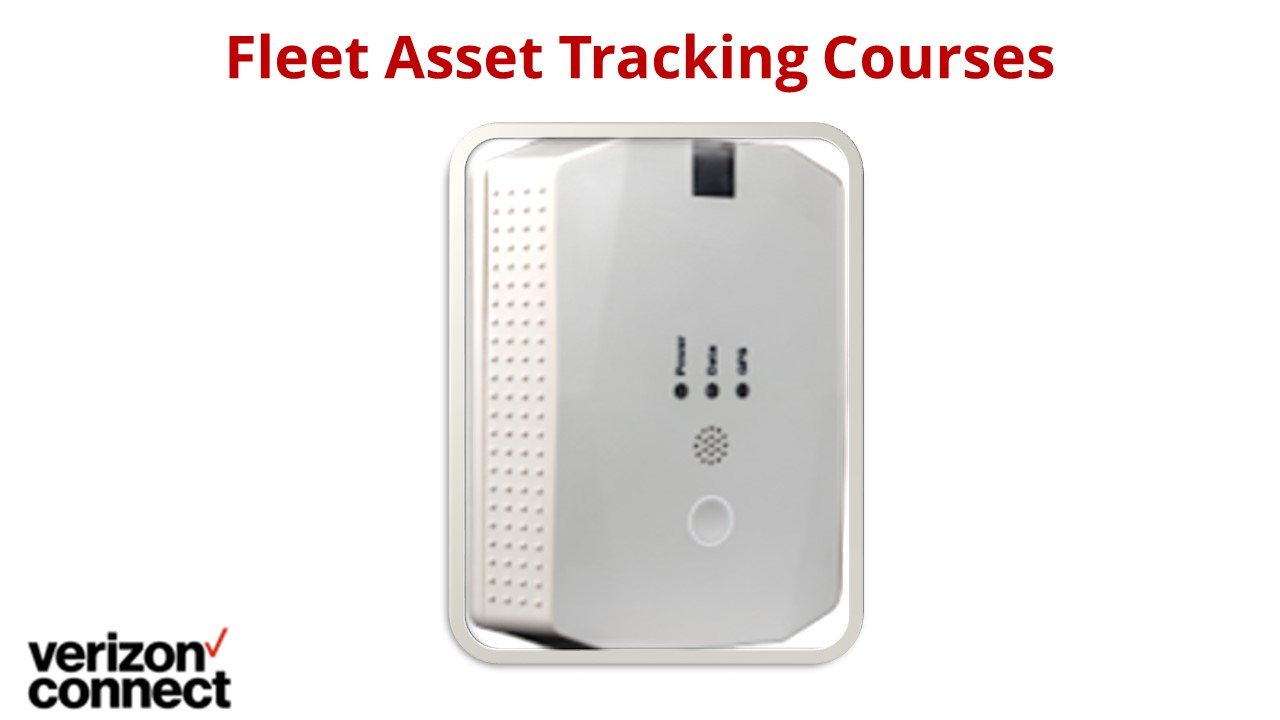 Fleet Asset Tracking Courses