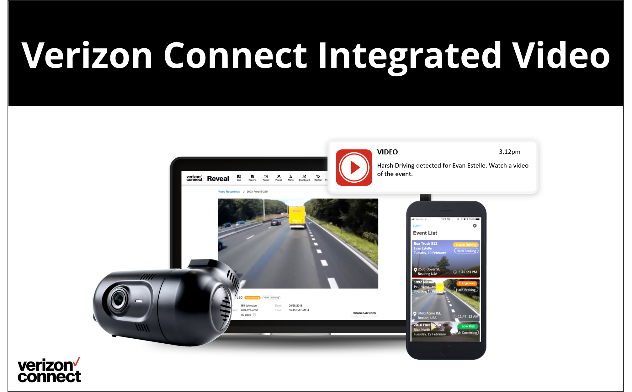 Verizon Connect Integrated Video