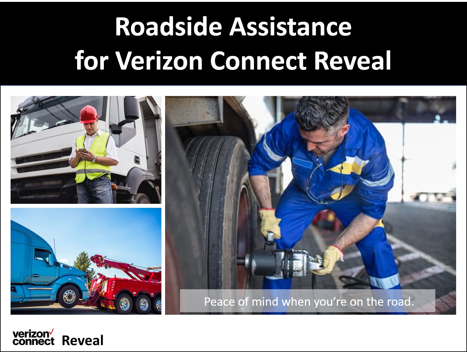 Reveal Roadside Assistance eTutorial
