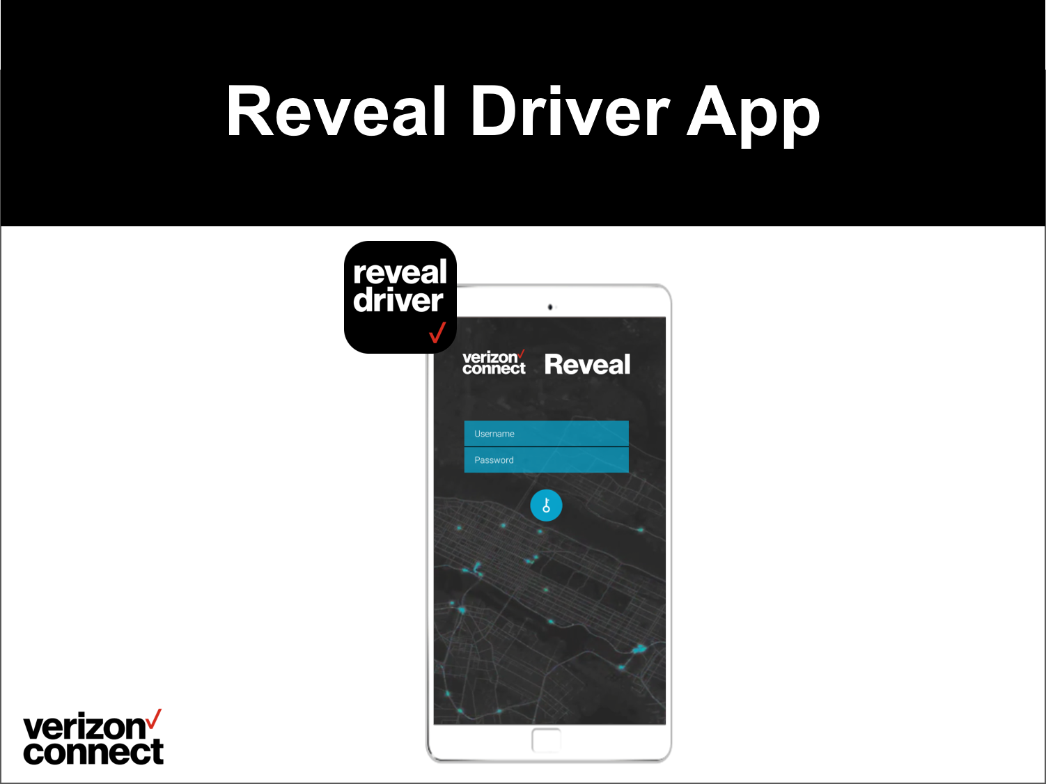 Reveal Driver App eTutorial