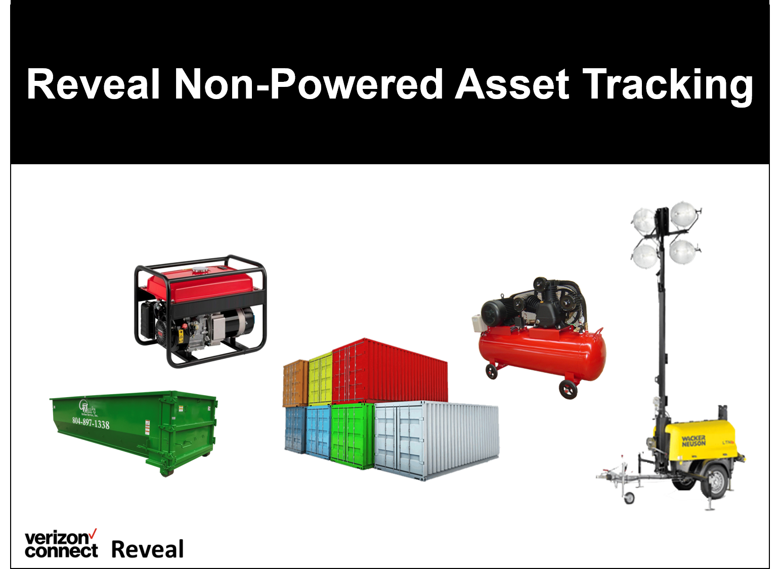 Reveal Non-Powered Asset Tracking eTutorial