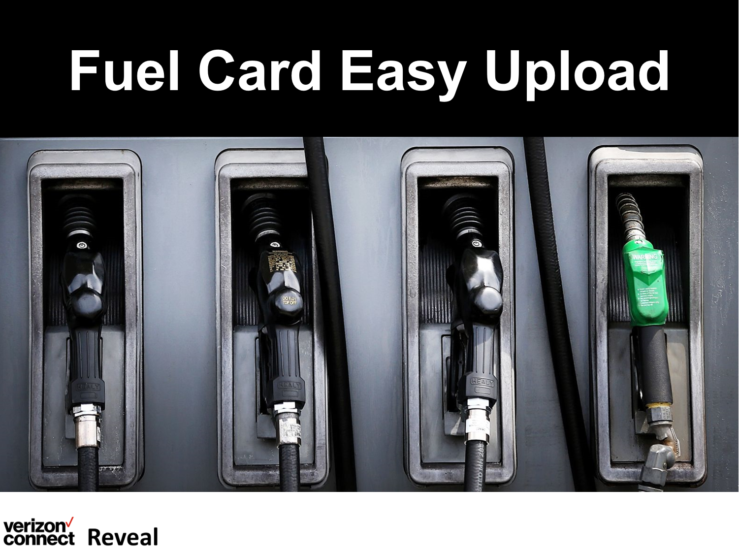 Reveal Fuel Card Easy Upload eTutorial