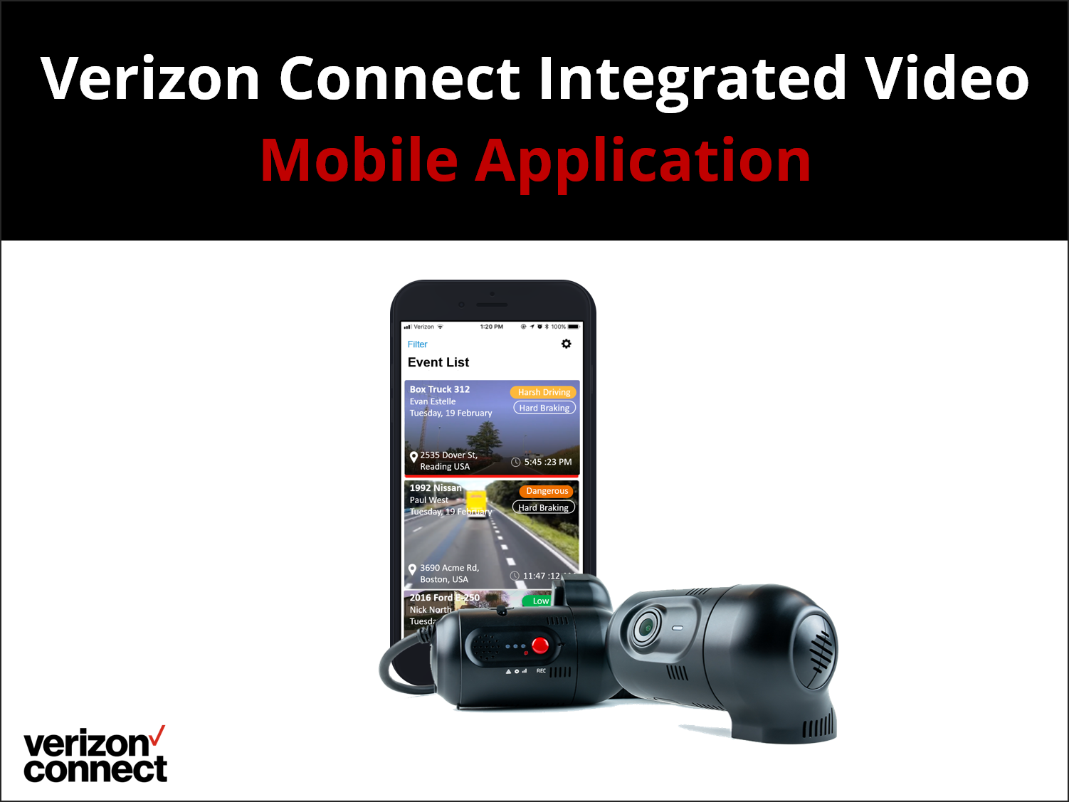 Verizon Connect Integrated Video Mobile App eTutorial